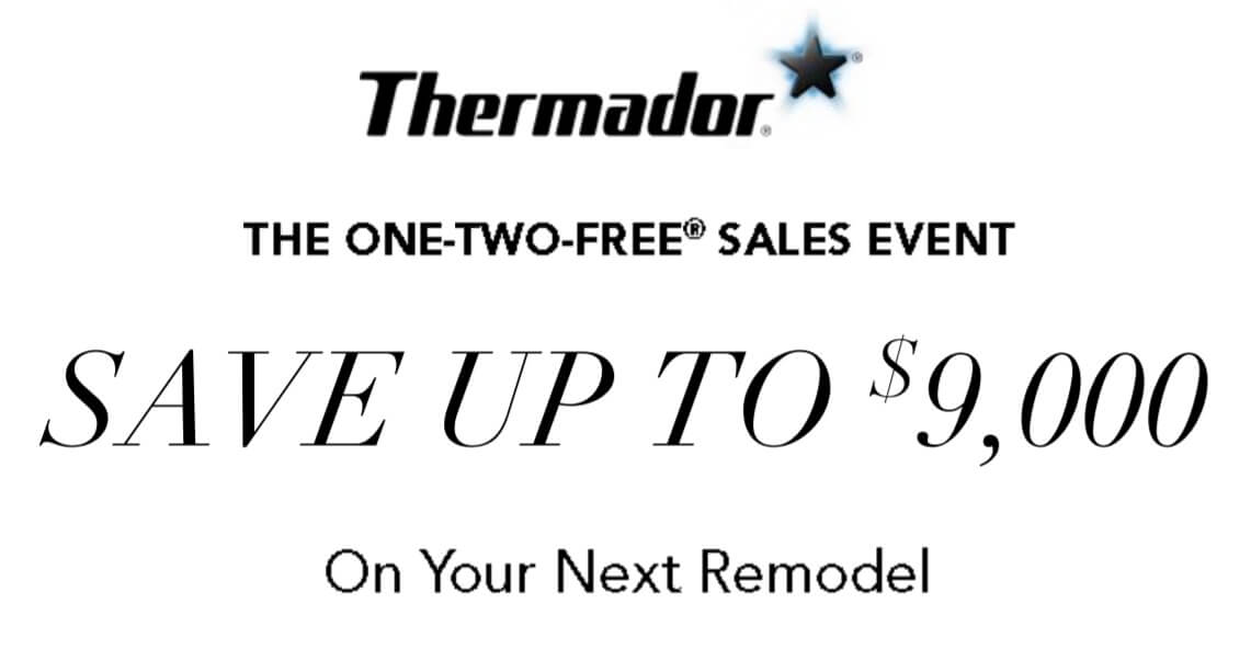 Save up to $9,000 on Thermador kitchen appliance packages
